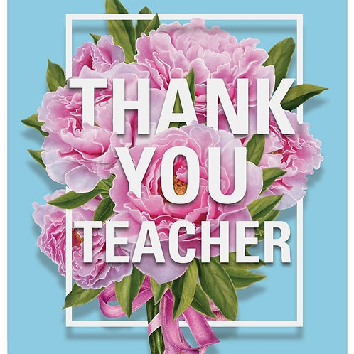 Personalised Everyday Cards - Teacher