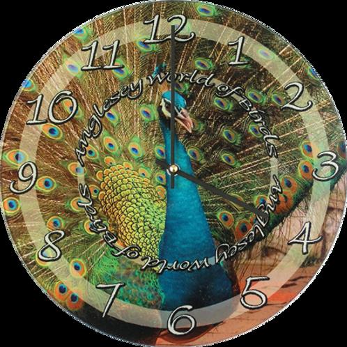 Glass Printable Clock