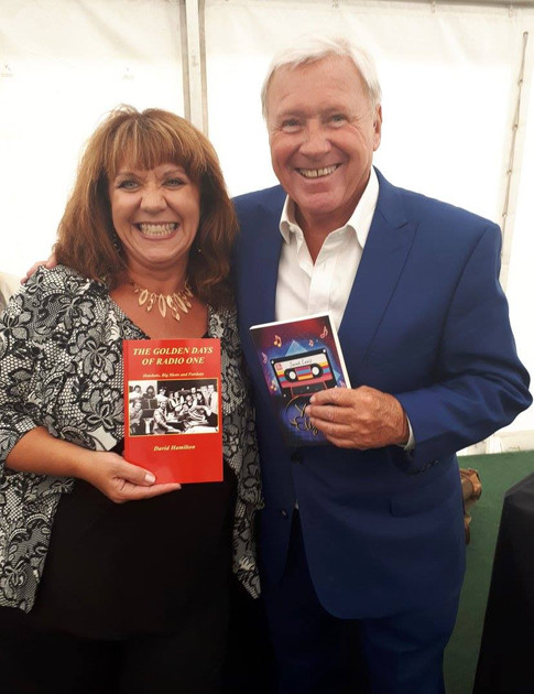 Swapping books with David Hamilton