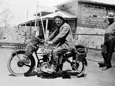 """The lengths some people go to over an election campaign... This is Harold George Nelson, the NT's first federal member, who served in the House of Representatives for 12 years. The Territory was granted a seat (but no voting rights) in 1922, which former union leader Nelson won as an independent, later joining the Labor party. While campaigning during the 1925 election, Nelson gave an impassioned two-hour speech in Alice Springs before leaving the telegraph station en route to Darwin. He lost his way somewhere near Barrow Creek, travelling in circles with no water, scattering papers with rough directions scribbled on them. Getting more desperate, he wrote a farewell letter to his wife with an """"assurance that a power stronger than the electors had taken a hand in his destiny"""". He lit fires and even resorted to drinking engine oil for over 48 hours (not recommended), before he was found, probably just an hour or so from his death. He went on to win the December election by 34 votes and ended up serving until 1934.  19 May 2019  Image: B 62584, Alice Springs Collection, State Library of South Australia"""