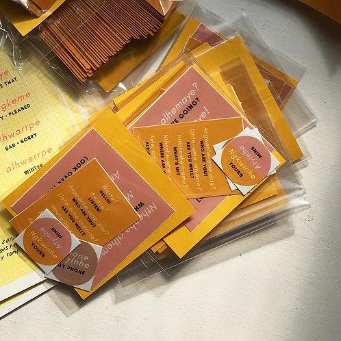 Arrernte Sticker Pack