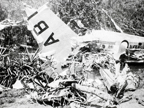 "Tragedy struck in Katherine 80 years ago this week, when the Darwin to Adelaide mail plane crashed after takeoff straight into the Katherine River. The 12-seater plane, a Lockheed Super Electra, failed to clear trees near the Katherine aerodrome and plummeted into the Katherine River. It was just two years after New Guinea Airways had started the mail run, three times each week. The crew of four experienced aviators, Captain Jukes, Captain Clarke, Peter Donegan and Alexander McDonald were killed instantly. Their bodies were retrieved by the flying doctor, Dr Fenton, and nursing staff from the Katherine Hospital. It was reported in the Northern Standard that ""it is doubtful if Australian aviation could have lost four finer and more likeable men"". With them was 800 pounds of mail in 23 bags bound for Melbourne, Adelaide, Perth and Tasmania stored in the nose of the plane, which was salvaged from rising floodwaters.  27 January 2019  Image: Ivan R. Hodder Collection, Northern Territory Library"