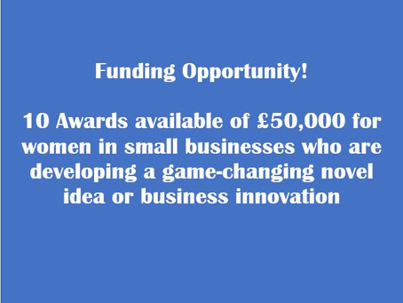 Are you a women with exciting, innovative ideas and ambitious plans that will inspire others?