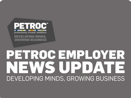 Check out Petroc employer newsletter