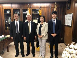 在日大韓民国民団を表敬訪問