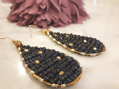 Ugandan Beaded Earrings