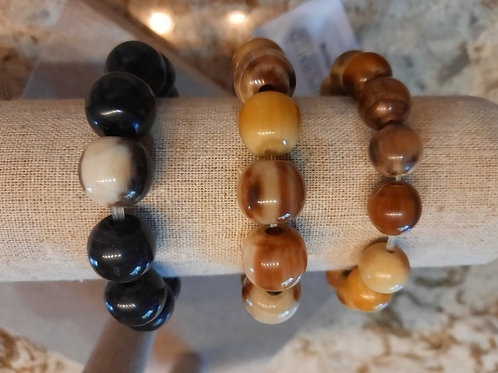 Uganda Horn Bracelets