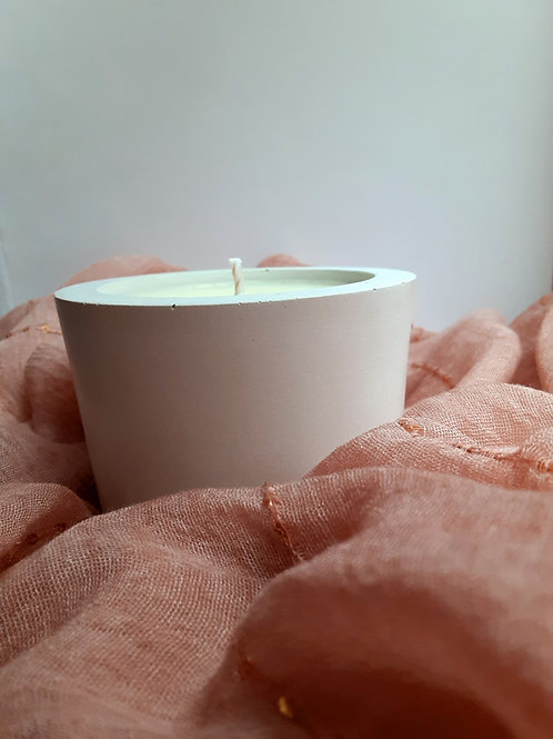 100% Soy Wax White Candles