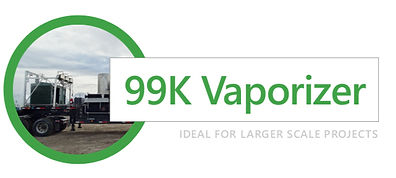 99K Vaporizer for LNG Projects in Alberta