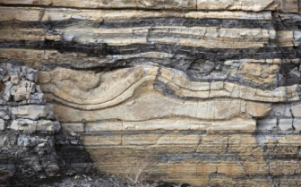 Image showing shale layers in rock bed