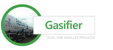 Gasifier for LNG Projects in Alberta