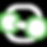Molecule icon of nitrogen