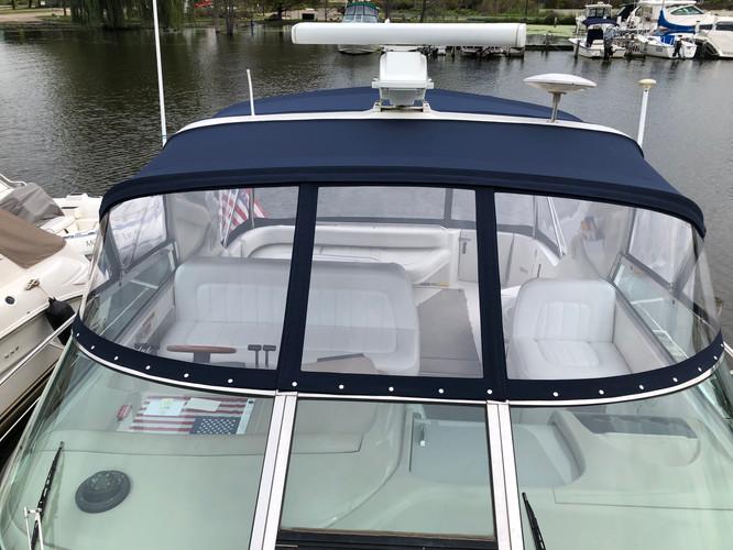 BLue Boat Enlosure Holland MI