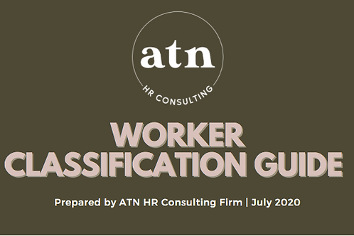 Guide to Worker Classification