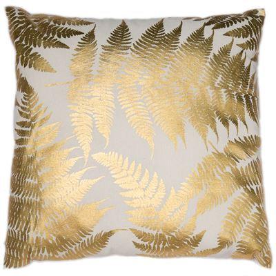 Golden Fern Cushion