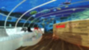 עיצוב ותכנון בית מלון תת ימי, בתל א אביב. עיצוב המשלב בו חדשניות, ייחודיות וחוויה ימית מגוונת בעולם הארכיטקטורה והעיצוב AQUATEL AVIV