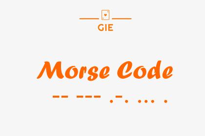 Morse Code (Unity Asset)