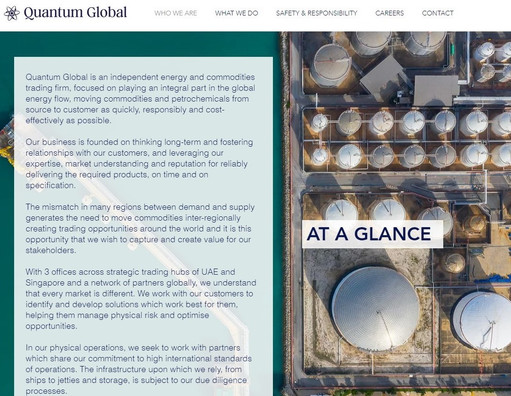 Quantum Global Website