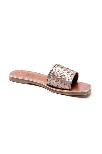 Trench woven slides