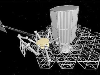 Robô montará telescópio modular no espaço