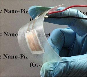 O nanogerador de escamas de peixe é incrivelmente eficiente - e feito com materiais descartados. [Imagem: Ghosh/Mandal - 10.1063/1.4961623]