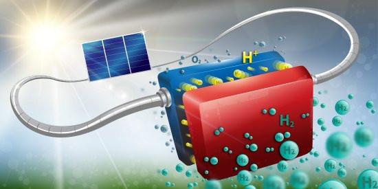 Partindo de componentes baratos e já testados, o sistema solar-químico gera hidrogênio com uma eficiência de 14,2%. [Imagem: Infini Lab/EPFL]