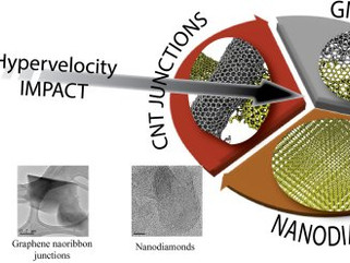 Projétil de nanotubo vira diamante após impacto