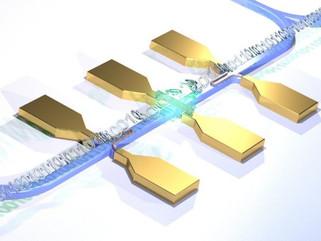 Primeiro circuito integrado fotônico totalmente elétrico