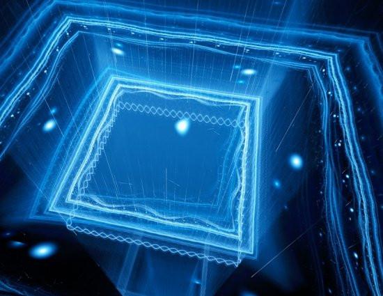 Toda a óptica de controle, que normalmente exige um laboratório inteiro, agora está embutida dentro do chip. [Imagem: MIT]