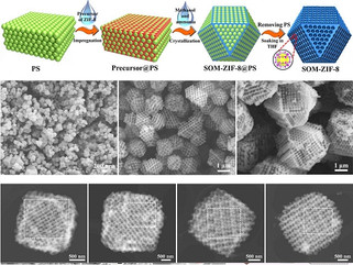 Primeiro material monocristalino para separar moléculas
