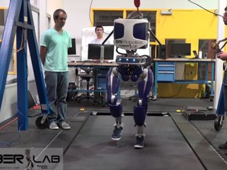 Shoe-Wearing Robot's No Flatfoot - It Walks like a Person