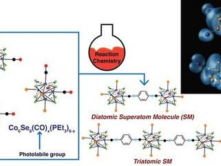 Criadas primeiras supermoléculas, feitas de superátomos