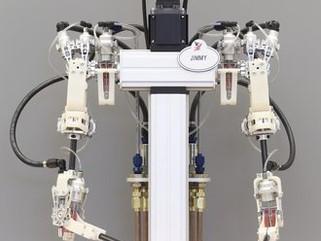 Acionamento hidrostático dá força e precisão a robôs