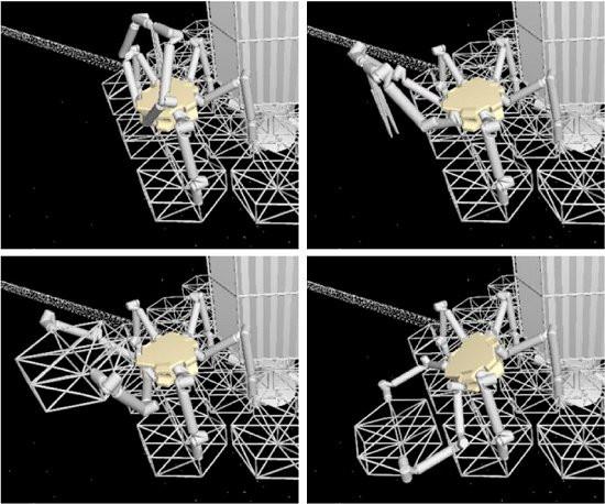 Etapas da construção de um telescópio [Imagem: Nicolas Lee et al - 10.1117/1.JATIS.2.4.041207]espacial hipotético. [Imagem: Nicolas Lee et al - 10.1117/1.JATIS.2.4.041207]