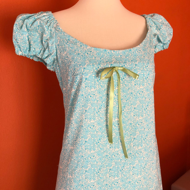Baby Blue Nightgown Dress
