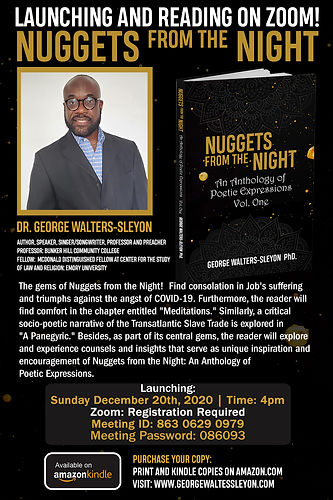 Launching and Reading Flyer for Nuggets