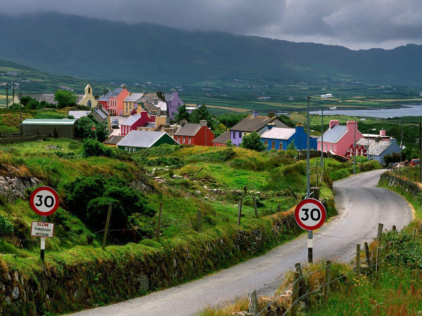 Cork-Ireland-Village