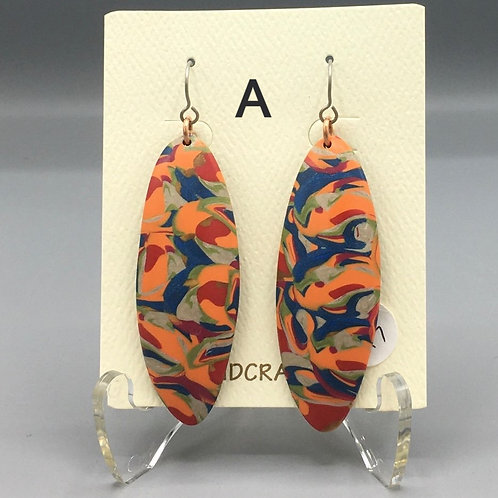 Earrings-Polymer Clay