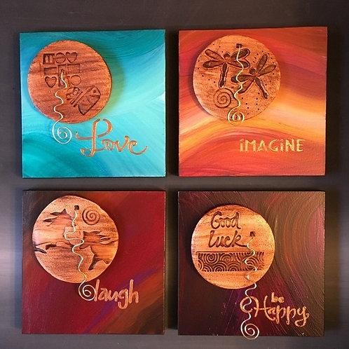 Inspirational plaques
