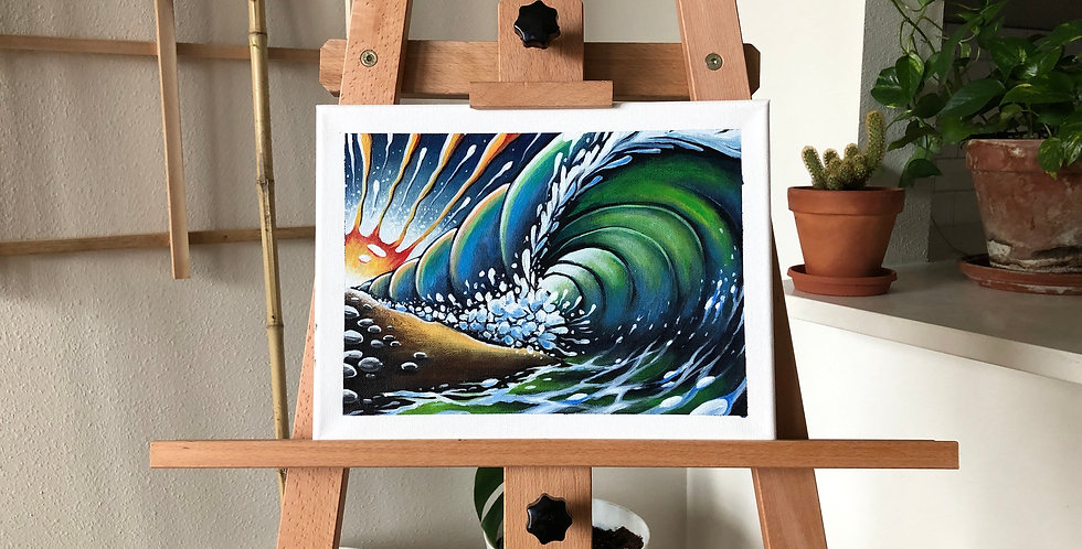 ORIGINAL Big Wave Painting