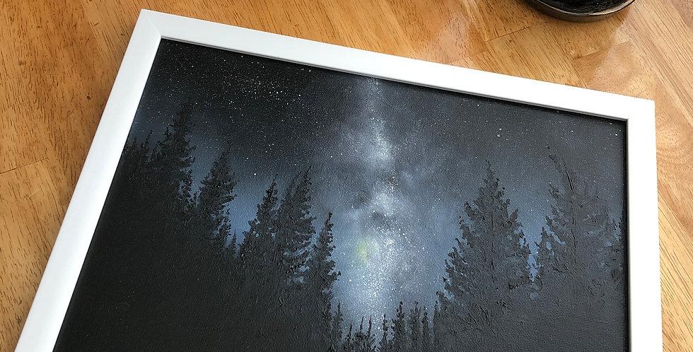 ORIGINAL Milky Way Painting