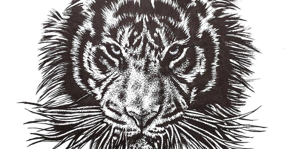 ORIGINAL Tiger Drawing