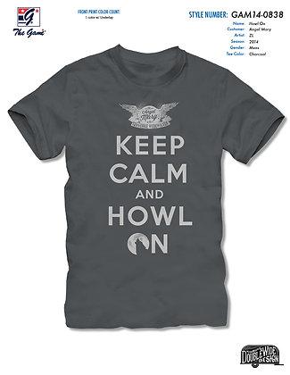 Keep Calm Howl on T-Shirt