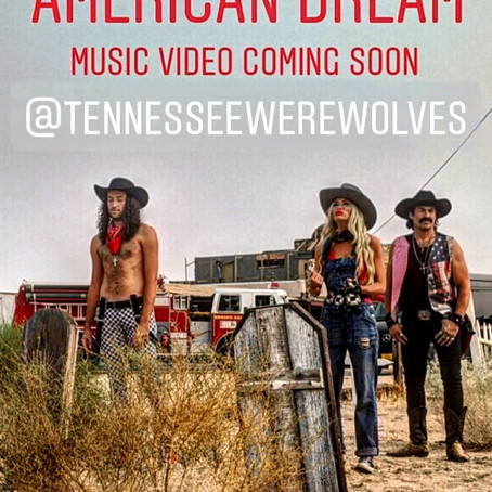"New Music Video, ""American Dream"", in the Works"