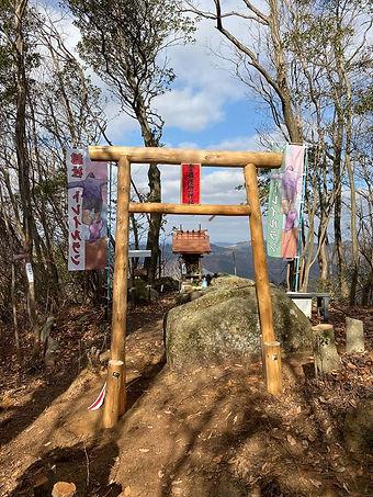 トレイルラン神社