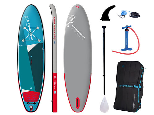 2021 Starboard I Go 10'8 x 33 Zen Inflatable SUP Package