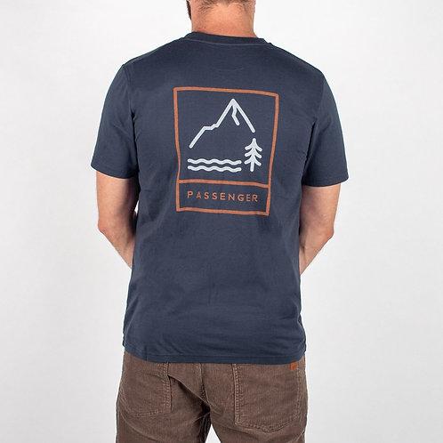 Passenger Clothing Core T Shirt Navy