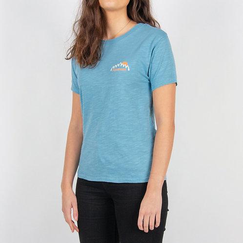 Passenger Flyer T Shirt Sky Blue Dye