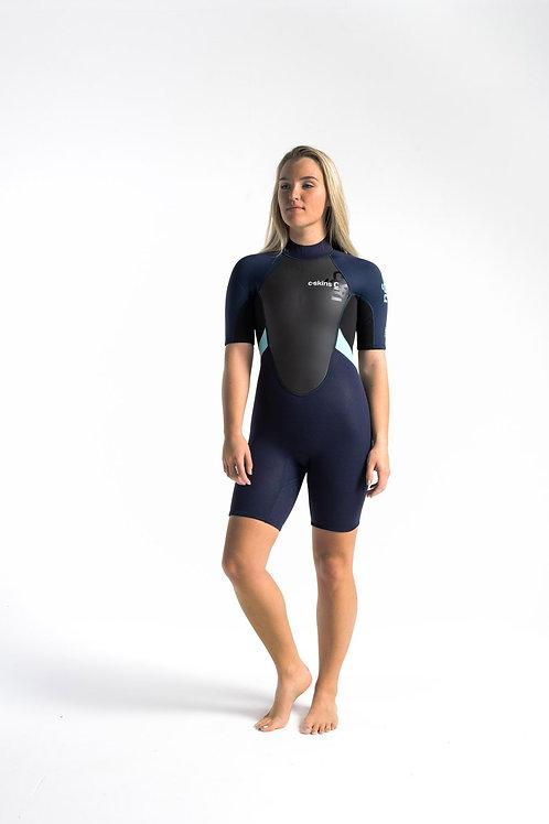 C-Skins Element Womens 3:2 Shortie Wetsuit