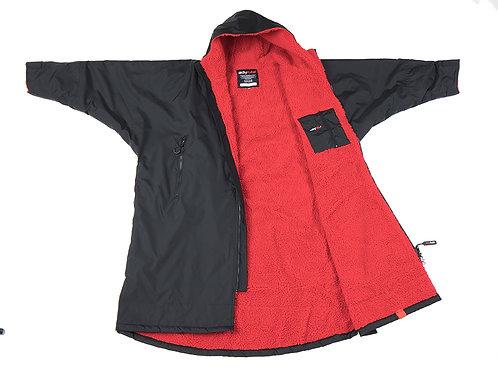 Dryrobe Advanced Long Sleeve Cobalt Black Red